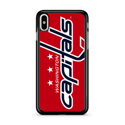 Washington Capitals Hockey1 iPhone X Case
