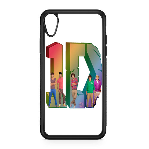 1D Logo Colourfull iPhone XR Case