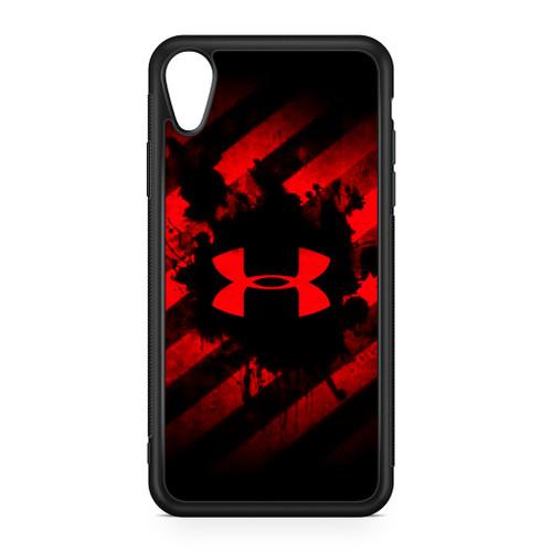 cheap for discount e2e60 8e5c4 Under Armour Red Art iPhone XR Case