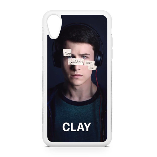13 Reasons Why Clay iPhone XR Case