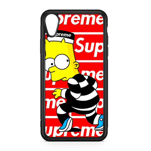 Supreme Bart iPhone XR Case