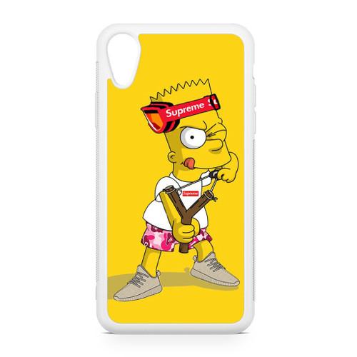 Explore Bart Simpson Supreme iPhone XR Case