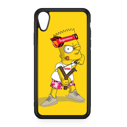 Explore Bart Simpson Supreme iPhone XR Case