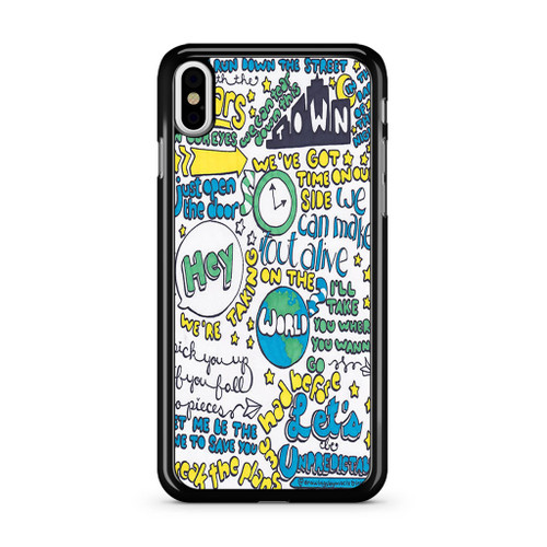 5Sos Unpredictable Lyric iPhone XS Max Case