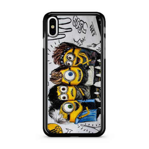 5SOS She Looks So Perfect Minions iPhone XS Max Case