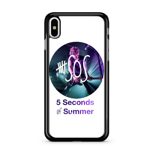 5SOS Luke Hemmings iPhone XS Max Case