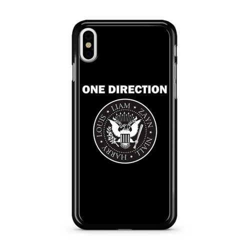 1D Liam Zayn Niall Harry Louis iPhone XS Max Case