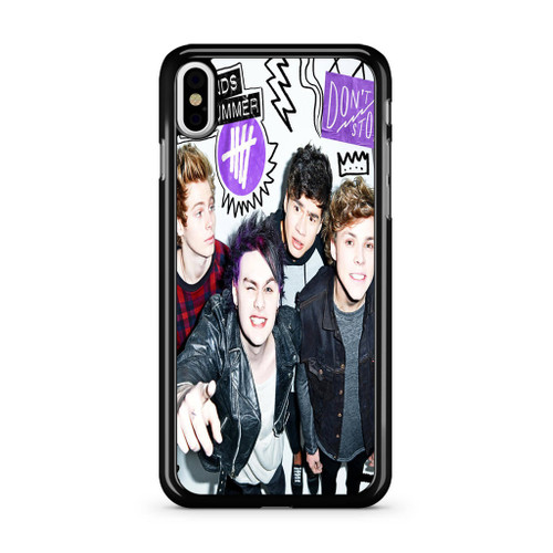 5SOS Don't Stop iPhone XS Max Case