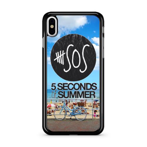5SOS Logo Sidney Beach iPhone XS Max Case