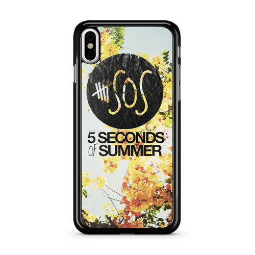 5SOS Spring Session iPhone XS Max Case