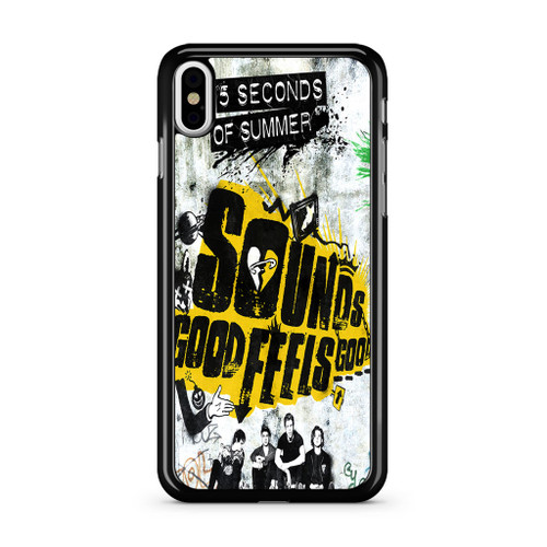 5SOS Sounds Good Feels Good iPhone XS Max Case