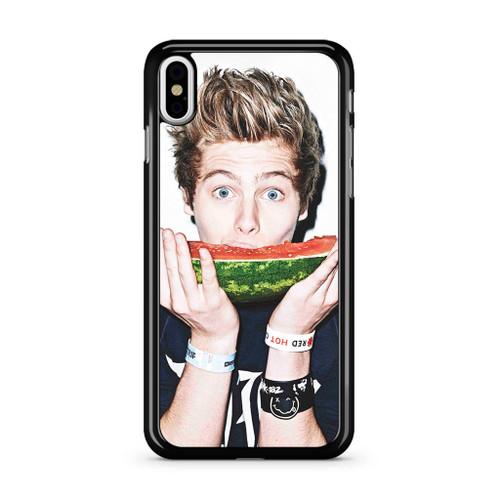5SOS Luke Hemmings Watermelon iPhone XS Max Case