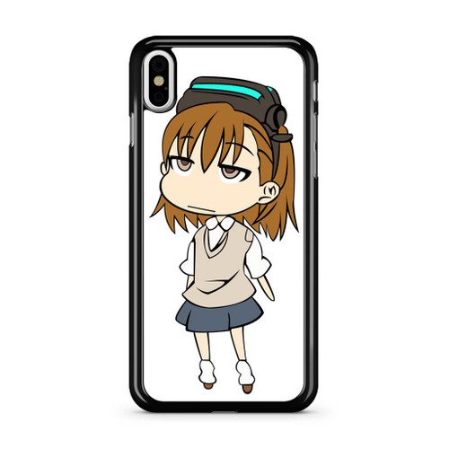 A Certain Scientific Railgun iPhone XS Max Case