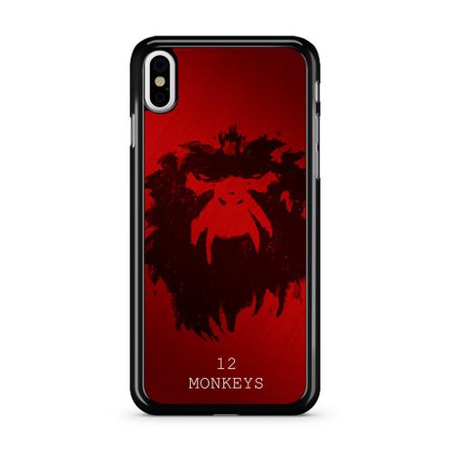 12 Monkeys iPhone XS Max Case