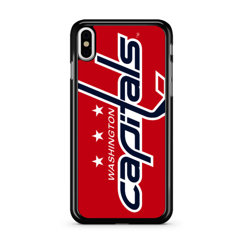 Washington Capitals Hockey Logo iPhone XS Max Case