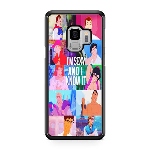 Disney Princes Men Samsung Galaxy S9 Case