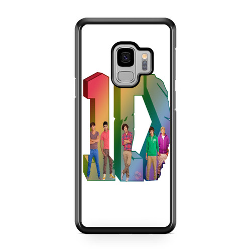 1D Logo Colourfull Samsung Galaxy S9 Case