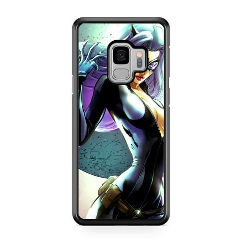 The Black Cat Moon Samsung Galaxy S9 Case