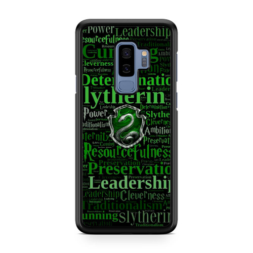 Slytherin Quote Logo Samsung Galaxy S9 Plus Case