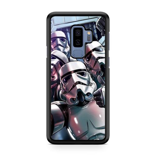 Star Wars Stormtrooper Selfie Samsung Galaxy S9 Plus Case