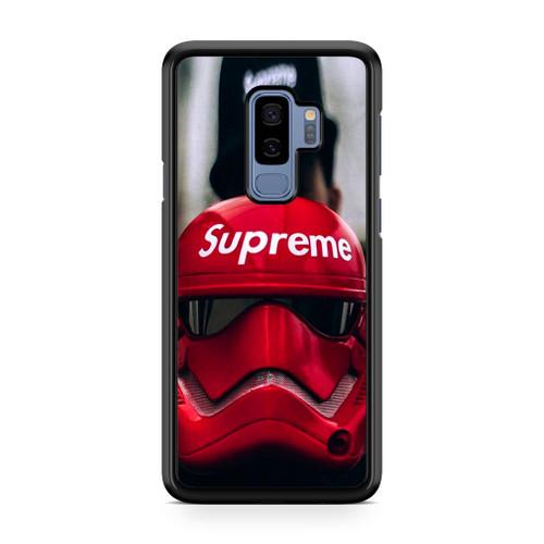 Stormtrooper Supreme Helmet Samsung Galaxy S9 Plus Case