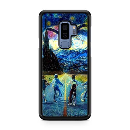Stranger Things Starry Night Samsung Galaxy S9 Plus Case