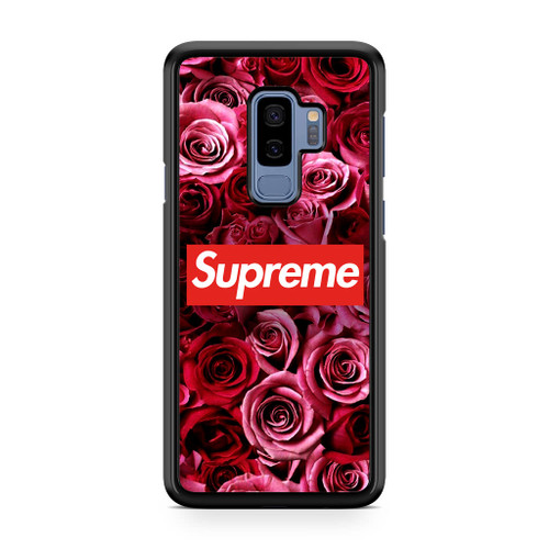 Supreme In Roses Samsung Galaxy S9 Plus Case