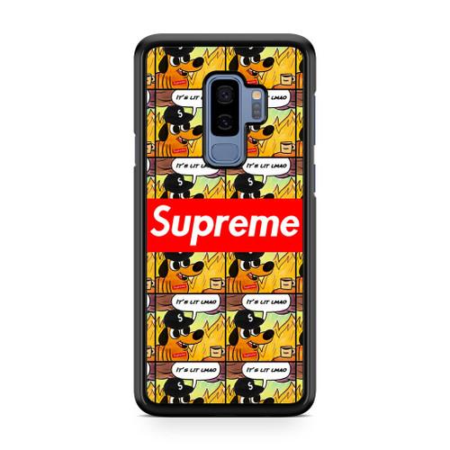 Supreme It's Lit Samsung Galaxy S9 Plus Case