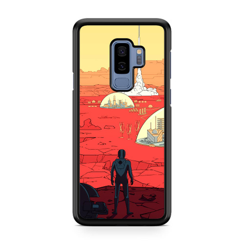 Surviving Mars Game Samsung Galaxy S9 Plus Case