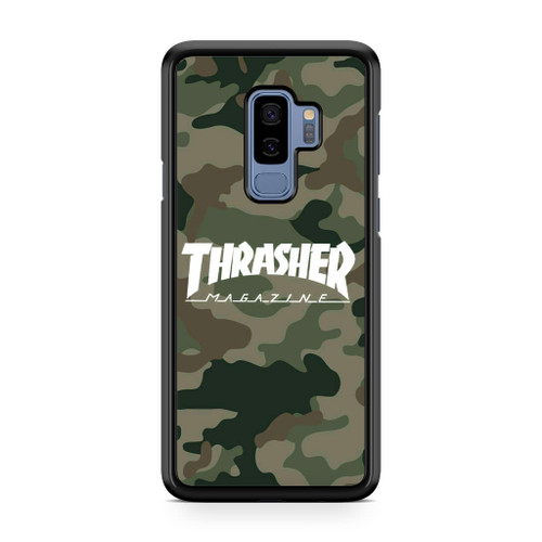 Thrasher Magazine Bape Camo Samsung Galaxy S9 Plus Case