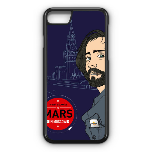 30 Seconds To Mars In Moscow iPhone 8 Case