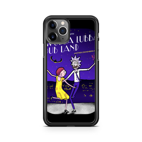 Rick And Morty Wubba Lubba Dub Land iPhone 11 Pro Max Case