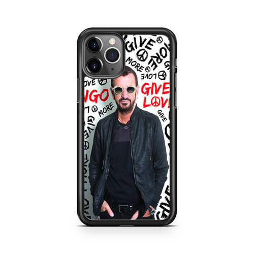 Ringo Starr Give More Love iPhone 11 Pro Max Case