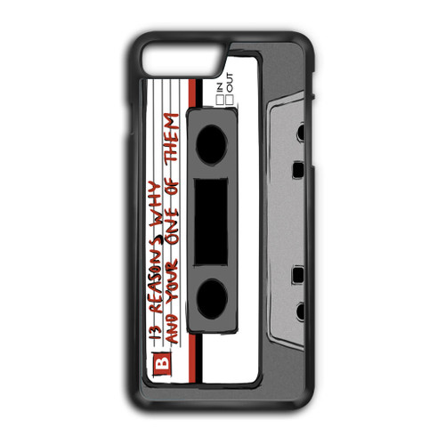 13 Reasons Why Casette iPhone 8 Plus Case