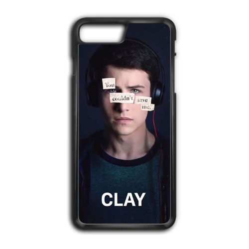 13 Reasons Why Clay iPhone 8 Plus Case