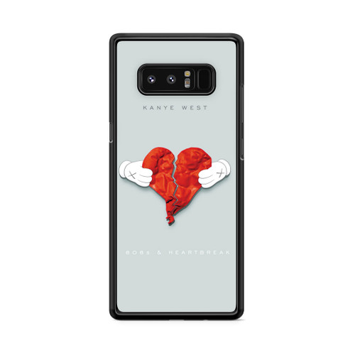808s Kanye West and Heartbreak Samsung Galaxy Note 8 Case