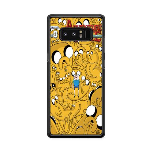 1c809b3f22b3 Adventure Time Collage Samsung Galaxy Note 8 Case