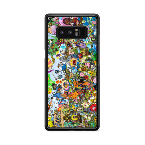 Adventure Time All Character Samsung Galaxy Note 8 Case