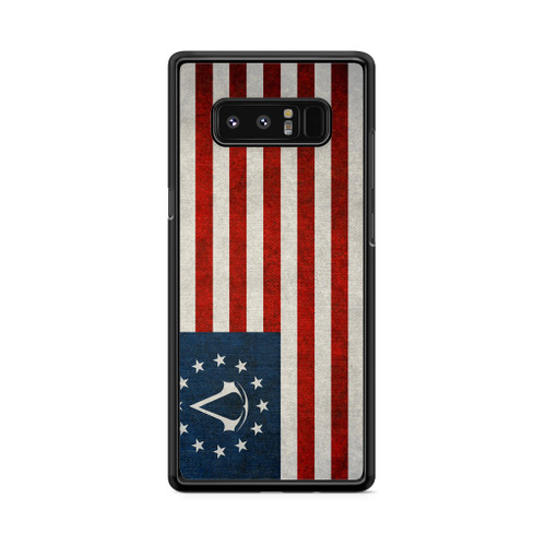 Assassin's Creed Colonial Flag Samsung Galaxy Note 8 Case