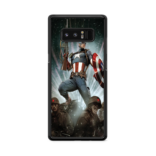 Astonising Captain America Samsung Galaxy Note 8 Case