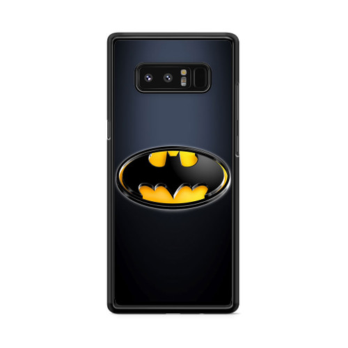 Batman Black Logo Samsung Galaxy Note 8 Case