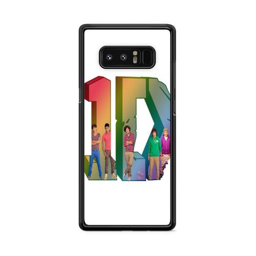 1D Logo Colourfull Samsung Galaxy Note 8 Case