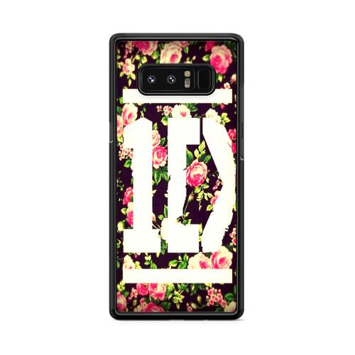 1D Logo Flower Samsung Galaxy Note 8 Case