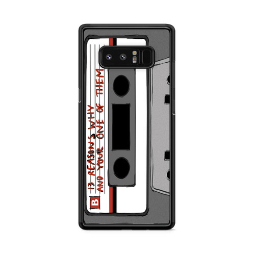 13 Reasons Why Casette Samsung Galaxy Note 8 Case