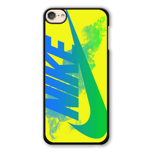 Nike Logo in Yellow iPod Touch 6 Case