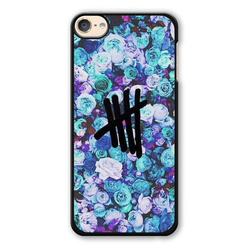 5SOS Logo Natural Flower iPod Touch 6 Case