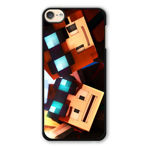 Minecraft Faceplant iPod Touch 6 Case