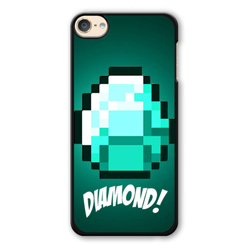 Diamond Minecraft iPod Touch 6 Case