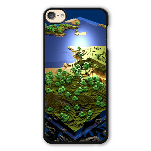 World Minecraft iPod Touch 6 Case