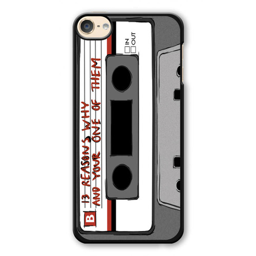 13 Reasons Why Casette iPod Touch 6 Case
